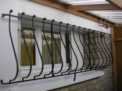 Grilles de protection metallique pour fenetres a baie mahault en guadeloupe